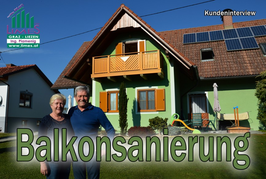 Familie Haring aus Frauental, Alubalkon